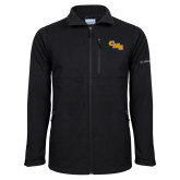 Columbia Ascender Softshell Black Jacket-CMS Stacked