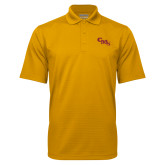 Gold Mini Stripe Polo-CMS Stacked
