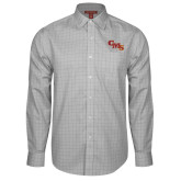 Red House Grey Plaid Long Sleeve Shirt-CMS Stacked