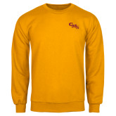 Gold Fleece Crew-CMS Stacked