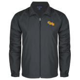 Full Zip Charcoal Wind Jacket-CMS Stacked