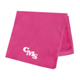 Pink Beach Towel-CMS Stacked