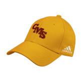 Adidas Gold Structured Adjustable Hat-CMS Stacked