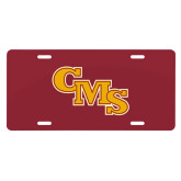 License Plate-CMS Stacked