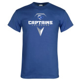 Royal T Shirt-Geometric Lacrosse Head