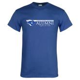 Royal T Shirt-Christopher Newport Alumni