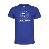 Youth Royal T Shirt-Captains Volleyball Stacked
