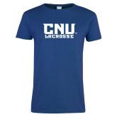 Ladies Royal T Shirt-Lacrosse