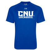 Under Armour Royal Tech Tee-Lacrosse