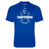 Under Armour Royal Tech Tee-Captains Baseball Seams