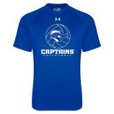 Under Armour Royal Tech Tee-Captains Volleyball Stacked