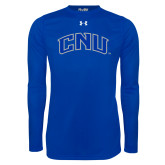 Under Armour Royal Long Sleeve Tech Tee-Arched CNU