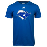 Adidas Climalite Royal Ultimate Performance Tee-Captain Head