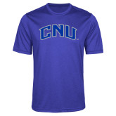 Performance Royal Heather Contender Tee-Arched CNU