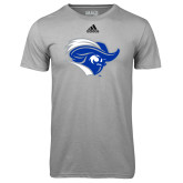 Adidas Climalite Sport Grey Ultimate Performance Tee-Captain Head