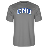 Performance Grey Concrete Tee-Arched CNU