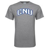 Grey T Shirt-Arched CNU