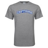 Grey T Shirt-Arched Captains