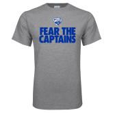 Grey T Shirt-Fear The Captains