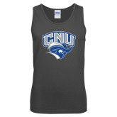 Charcoal Tank Top-Official Logo