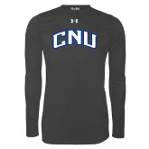 Under Armour Carbon Heather Long Sleeve Tech Tee-Arched CNU