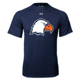 Under Armour Navy Tech Tee-Eagle Head