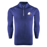 Under Armour Navy Tech 1/4 Zip Performance Shirt-Eagle Head