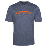 Performance Navy Heather Contender Tee-Arched Carson-Newman University