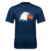 Syntrel Performance Navy Tee-Eagle Head