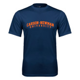 Performance Navy Tee-Arched Carson-Newman University