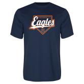 Syntrel Performance Navy Tee-Eagles Baseball Diamond w/ Script