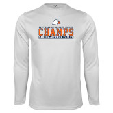Syntrel Performance White Longsleeve Shirt-2017 NCAA DII Womens Soccer - CHAMPS