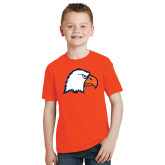 Youth Orange T Shirt-Eagle Head