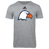 Adidas Sport Grey Logo T Shirt-Eagle Head
