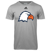 Adidas Climalite Sport Grey Ultimate Performance Tee-Eagle Head