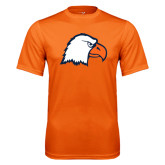 Performance Orange Tee-Eagle Head