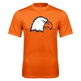 Performance Orange Tee-Eagle Head