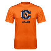 Performance Orange Tee-Soccer