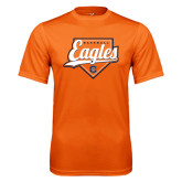 Performance Orange Tee-Eagles Baseball Diamond w/ Script