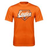 Performance Orange Tee-Eagles Baseball Diamond w/ Script