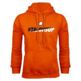 Orange Fleece Hoodie-#TalonsUp