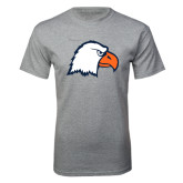 Grey T Shirt-Eagle Head