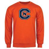 Orange Fleece Crew-Official Logo