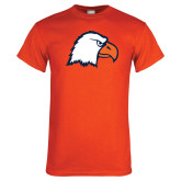 Orange T Shirt-Eagle Head