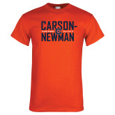 Orange T Shirt-Carson Newman Stacked