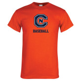 Orange T Shirt-Baseball