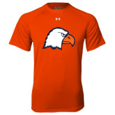 Under Armour Orange Tech Tee-Eagle Head