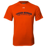 Under Armour Orange Tech Tee-Arched Carson-Newman University