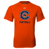 Under Armour Orange Tech Tee-Football