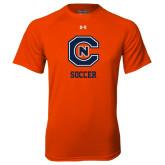 Under Armour Orange Tech Tee-Soccer